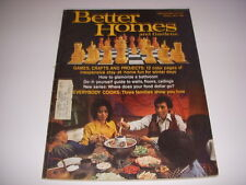 Vintage BETTER HOMES AND GARDENS Magazine, January 1974, GAMES, CRAFTS, PROJECTS