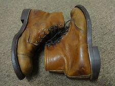 VTG CHIPPEWA CHUKKA BOOTS 9.5D MEN LEATHER EQUESTRIAN MOTORCYCLE WESTERN 70S