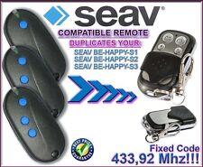 SEAV BE HAPPY S1, BE HAPPY S2, BE HAPPY S3 Compatible mandos a destancia, Clon