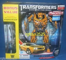 Transformers Dark of the Moon Leader Class Bumblebee Camaro New w Starscream