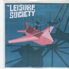 (BQ645) The Leisure Society, Save It For Someone Who Cares - DJ CD