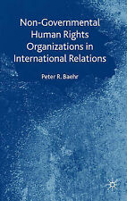 Non-Governmental Human Rights Organizations in International Relations, Baehr, P