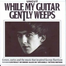 Uncut Promo CD George Harrison While My Guitar Gently Weeps Cover Curios Beatles
