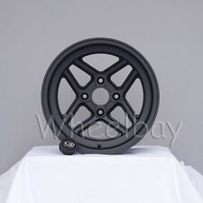 NEW ROTA WHEEL TBT 15X8 4X100 0  MAG BLACK 15.5 LBS  LAST SET