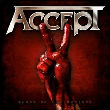 ACCEPT - Blood Of The Nations CD
