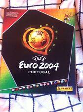 ALBUM EURO 2004 PANINI  EDIZIONE SVIZZERA NUOVO VUOTO