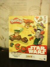 PLAY DOH STAR WARS CAN HEADS MISSION ON ENDOR 3 CAN PACK NEVER USED EWOK LUKE