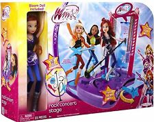Brand New WINX CLUB Rock Concert Stage✿✿ With Bloom Doll Included
