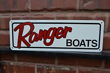 Ranger Bass Boat SIGN Fishing Marina Mechanic Shop Skiing Logo Advertising