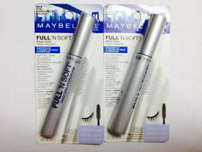 maybelline full'n soft mascara  volume+care 312 brownish black pack of 2