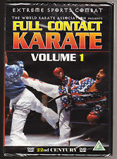 FULL CONTACT KARATE - THE WORLD KARATE ASSOCIATION - NEW & SEALED R2 DVD - RARE