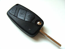 Citroen Relay Van 3 Button Flip Remote Key Fob Case + Blank Blade