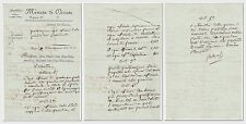 "Napoleon I. – excellent Document signed ""Bonaparte"""