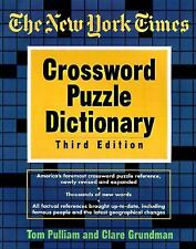 The New York Times Crossword Puzzle Dictionary, Third Edition (Puzzles & Games