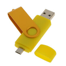 64GB USB 2.0 Flash Memory Stick Storage Pen Drive U Disk Thumb Gift Gold