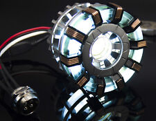 DIY FULL METAL MADE DELUX EDITION REMOTE CONTROL IRON MAN MK2 ARC REACTOR Gift