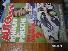 1µ?§ Revue Auto Hebdo n°334 Mouton Golf GTI 1800 Giardini R.Guerrero 1000 km SPA