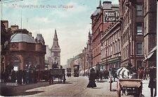UK Scotland Glasgow - Trongate from the Cross old unused postcard