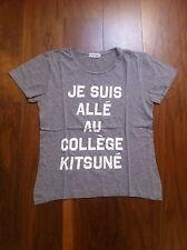 """KITSUNE """"JE SUIS ALLE AU COLLEGE KITSUNE"""" T-SHIRT"""