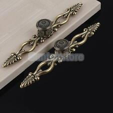 1x Traditional Antique Brass Cabinet Closet Cupboard Drawer Handle Pull Knob