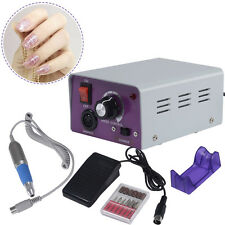 Electric Pro Nail File Acrylic Pedicure Drill Sand Machine Kit Set Salon New