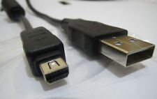 Usb Data Sync Cable Cargador Para Olympus Pen E-pl3 / Mini E-pm1 / FE-130 y FE-140