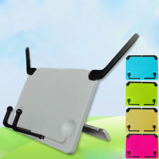 Folding Desktop Sheet Music Stand Holder Adjustable Table Top Cook Book Stand