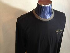"""Tommy Bahama Men XL Long Sleeve Tshirt """"Chillin Without A Cause"""" Biker Relax Fit"""