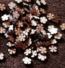 wooden flowers 100 x Mdf Craft Shape Blanks 10 Mm