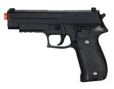 UKARMS G26 1:1 Scale Spring Airsoft Gun - Tactical Pistol - BLACK