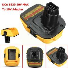 Plastic DCA 1820 20V MAX To 18V Adapter DCA 1820 Converter For Dewalt Battery