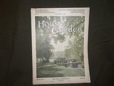 1906 DECEMBER THE HOUSE & GARDEN MAGAZINE - GREAT PHOTOS & ADS - ST 780