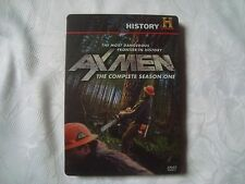 AX MEN The COMPLETE Season 1 RARE OOP SteelBook 4 disc  History Channel DVD