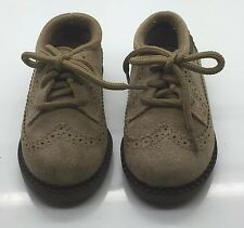 WEEBOK by REEBOK Brown Suede Textured Lace Up Baby Sneaker Shoe Kids Size 5M