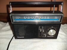 Vintage Panasonic 3 Band Transistor Radio AM/ FM / WB  Model RF-1089