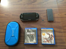 Sony PlayStation Vita PCH 1001 Model Bundle + Wi-Fi Only + 8 GB + 2 Games