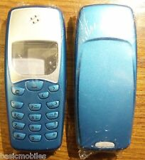 Nokia 3310/3330 Blue Fascia/Housing/Cover & Keypad.