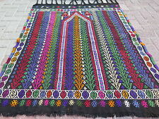 "Anatolia Turkish Small Antalya Nomad Kilim 41,3"" x 52,3"" Area Rug Kelim Carpet"