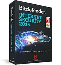 BITDEFENDER INTERNET SECURITY  2015  1 AÑO 3 PCs  (CLAVE ORIGINA NUEVAL)