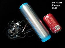 """Clear Hanger Tape 1/4"""" 1Rolls Lastin Lingerie Swim Strap/Mobilon"""