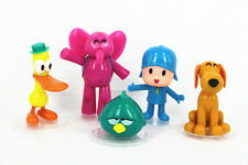 5Pcs Set Cartoon Pocoyo Zinkia Doll PVC Action Figures Kids Toys Birthday Gift