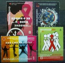 Macedonia 2010 Charity stamps MNH
