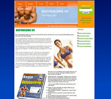 Bodybuilding and Weight Loss Website For Sale Ready To Run Online Business