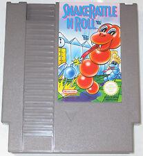 Serpiente de cascabel N Roll-Nintendo NES Juego-PAL una versión