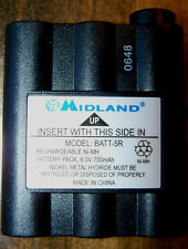Original Battery for Midland Radio Walkie Talkie Midland BATT-5R 700mAH BATT5R