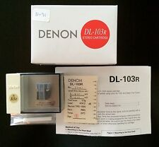 BRAND NEW-HAND SELECTED DENON DL-103R MOVING COIL MC PHONO CARTRIDGE DL103R
