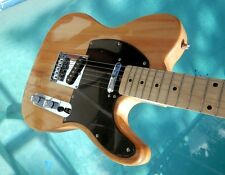 "Elite Tele Pro Style Guitar "" The Natural "" Mdl TL-Nat w/ Hot Z-Mule® Demo"
