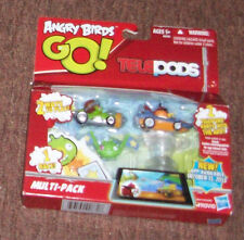NEW Angry Birds Go Kart Telepods - Multi 2 Pack  - Exclusive Orange Bird