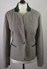BNWT women's Laura Ashley houndstooth equestrian wool blend jacket 14 RRP £85