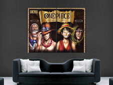 One piece wanted manga art mural grande image giant poster huge